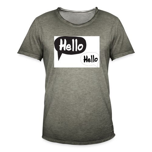 hello Design! Geschenkidee - Männer Vintage T-Shirt