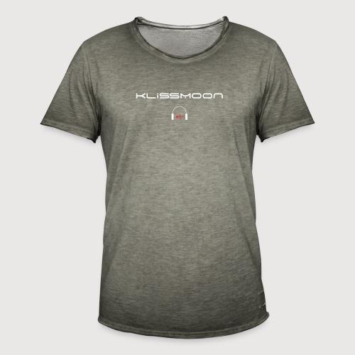 Klissmoon Logo white - Men's Vintage T-Shirt