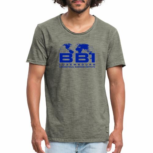 Blue Logo Collection - Men's Vintage T-Shirt