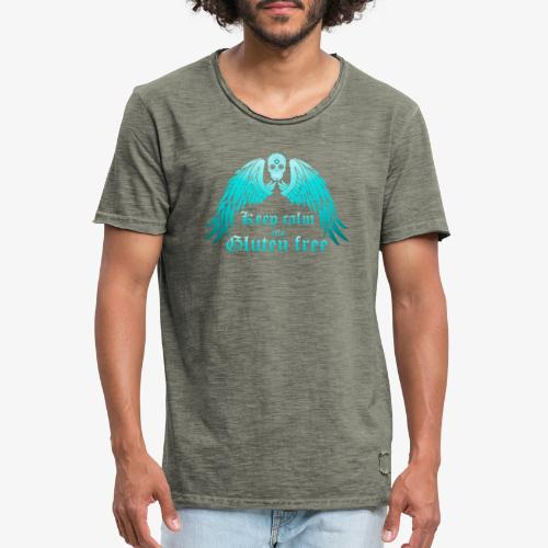 Keep calm it's Gluten free - Men's Vintage T-Shirt