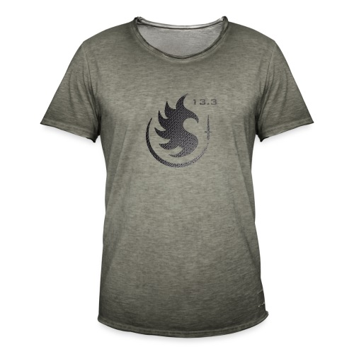Patch IR 13 3 TRAME BLACK INVERT 2 - T-shirt vintage Homme