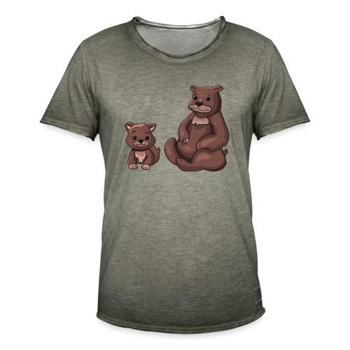 Gefährlicher Teamspieler - Männer Vintage T-Shirt