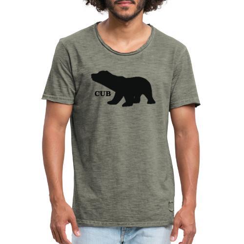 Bear Cub - Men's Vintage T-Shirt