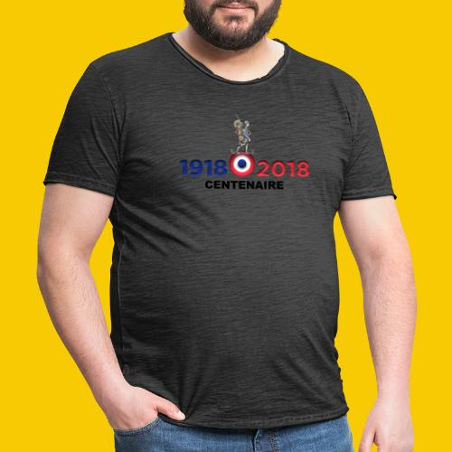 CENTENAIRE - T-shirt vintage Homme