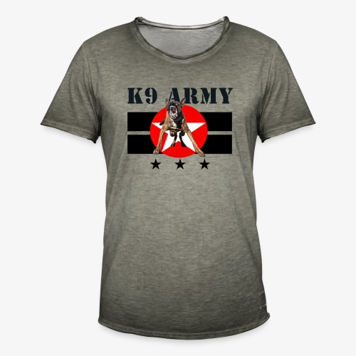 K9 CARDI ARMY - Men's Vintage T-Shirt