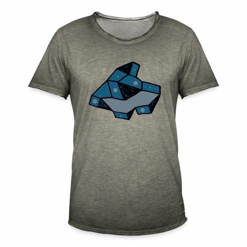 dot rock - Mannen Vintage T-shirt