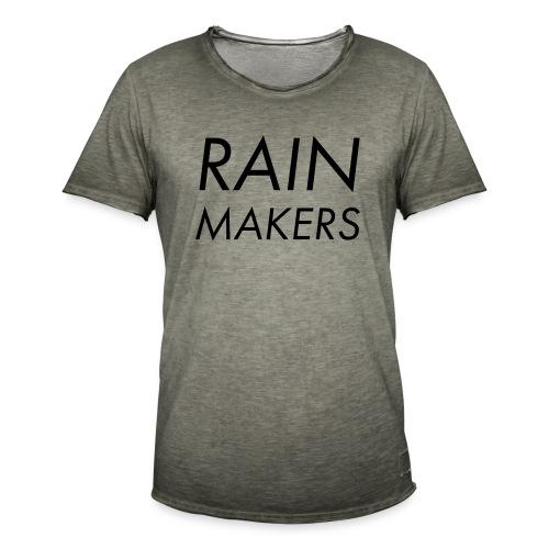 rainmakertext - Miesten vintage t-paita