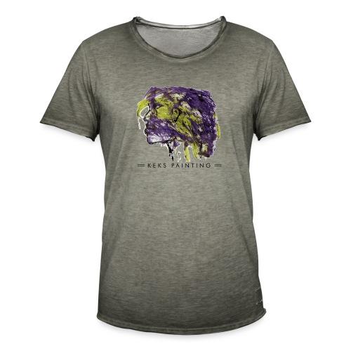Indianerin - Männer Vintage T-Shirt