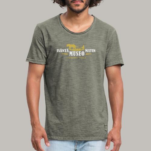 Museon retrologo - Miesten vintage t-paita