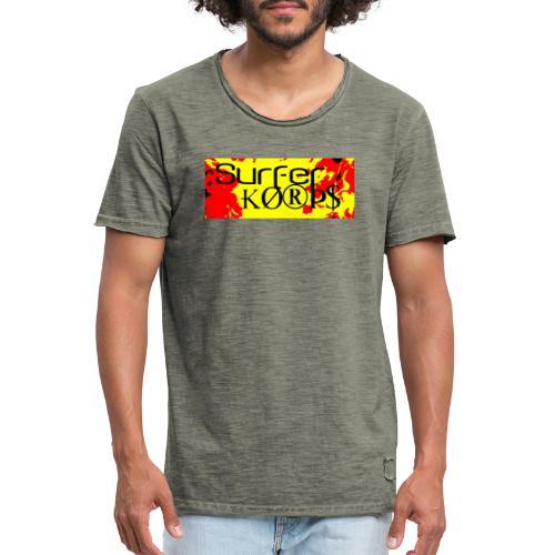 Surfer Korps - Camiseta vintage hombre