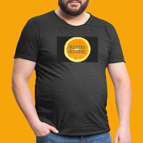 Orange_Logo_Black - Men's Vintage T-Shirt