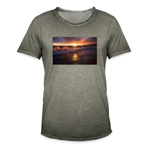 Magic sunset - Camiseta vintage hombre