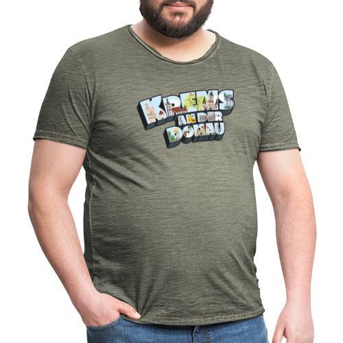 Krems an der Donau - Männer Vintage T-Shirt