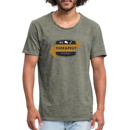 Dienstklamotte - Männer Vintage T-Shirt