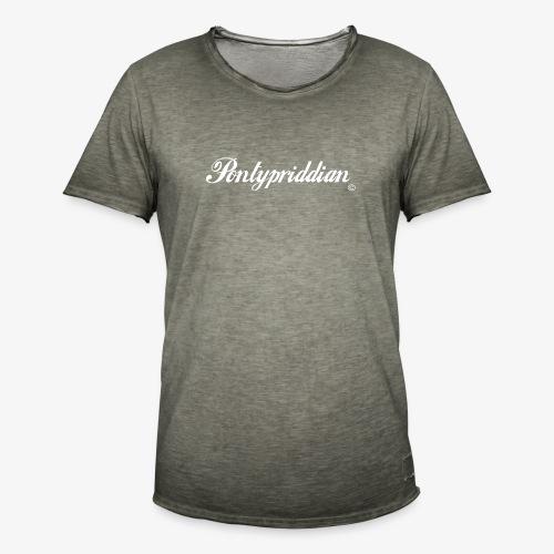 Pontypriddian - Men's Vintage T-Shirt