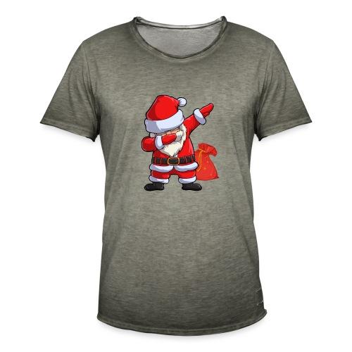 Weihnachtsmann Santa Claus - Männer Vintage T-Shirt