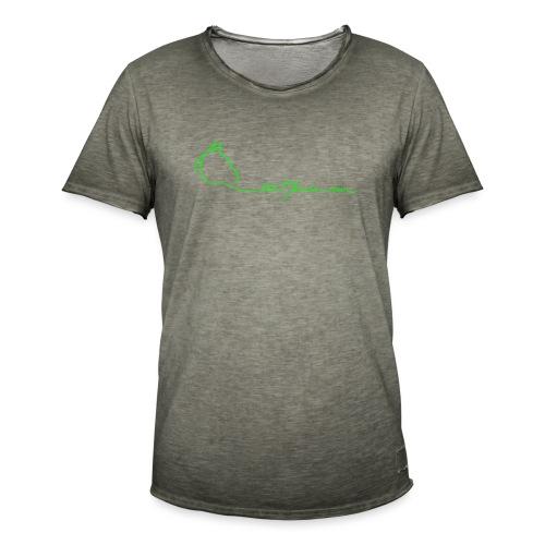 MPS Logoschriftzug gr offizieller Logoschriftzug - Männer Vintage T-Shirt