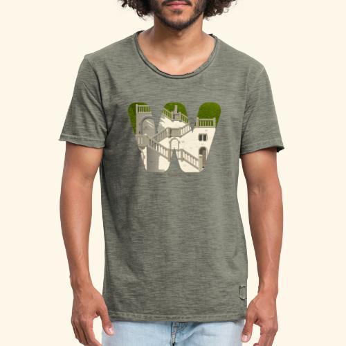 Vogelsauer Treppe - Männer Vintage T-Shirt
