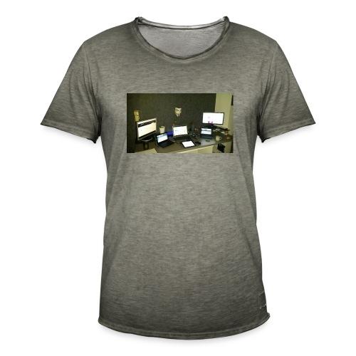 computer - T-shirt vintage Homme