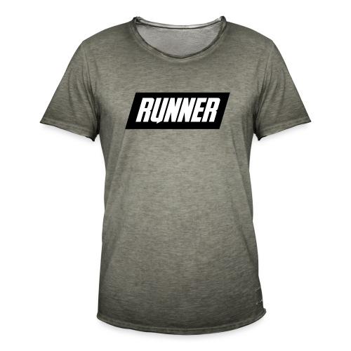 RUNNER - Maglietta vintage da uomo