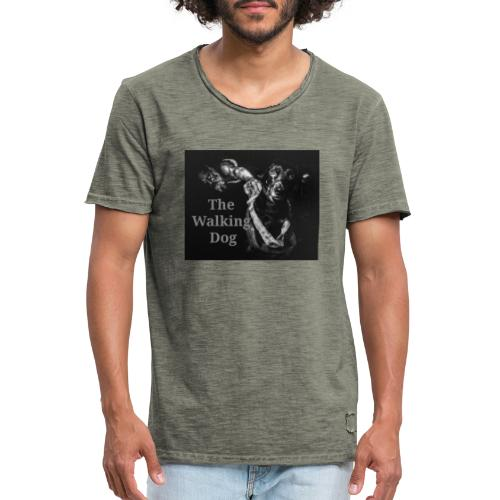 The Walking Dog - Männer Vintage T-Shirt