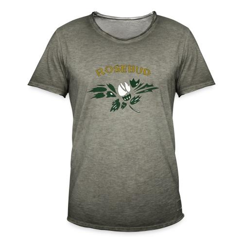 rosebud - Männer Vintage T-Shirt