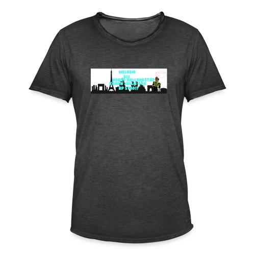 Noord Holland city - Mannen Vintage T-shirt