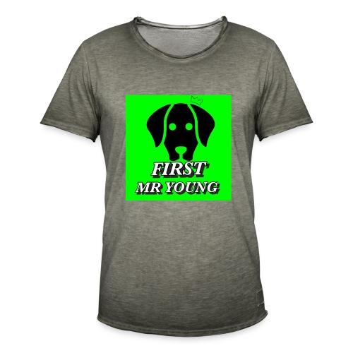 FIRST MR YOUNG CAP I RØD - Herre vintage T-shirt