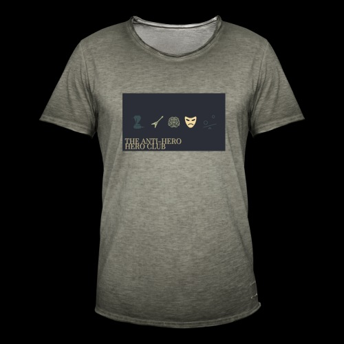 THE ANTI -HERO HERO CLUB T - Men's Vintage T-Shirt