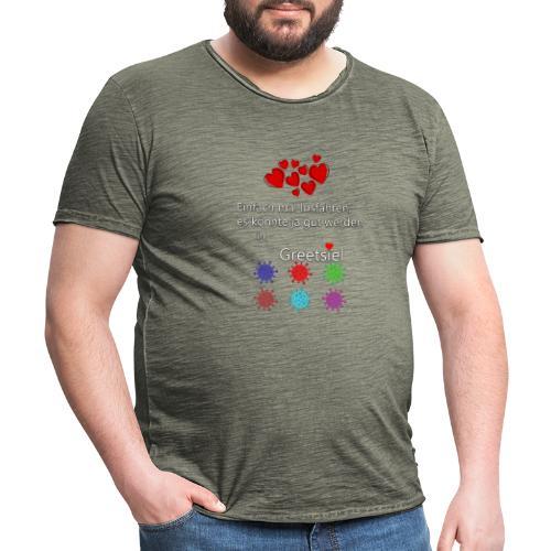 Einfach mal tun - Männer Vintage T-Shirt
