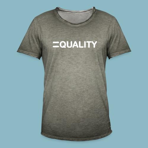 Equality - Maglietta vintage da uomo