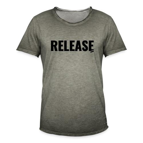 Release - Männer Vintage T-Shirt