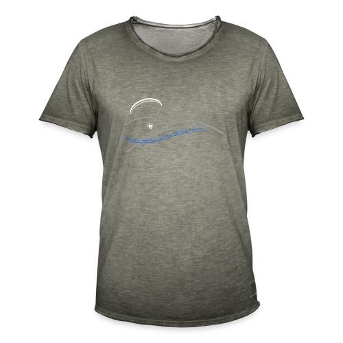 Libert'All paramoteur 3 Brins bleu - T-shirt vintage Homme