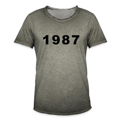 1987 - Mannen Vintage T-shirt