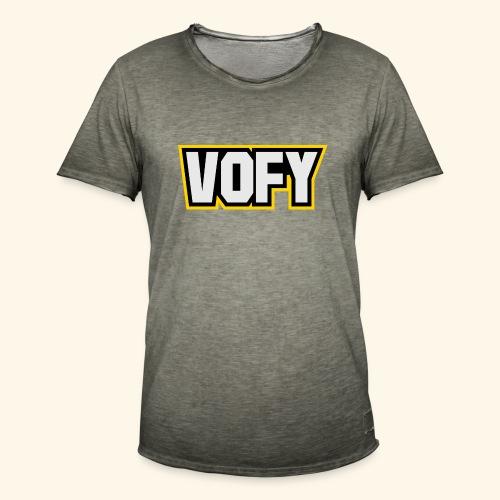 vofy - Männer Vintage T-Shirt