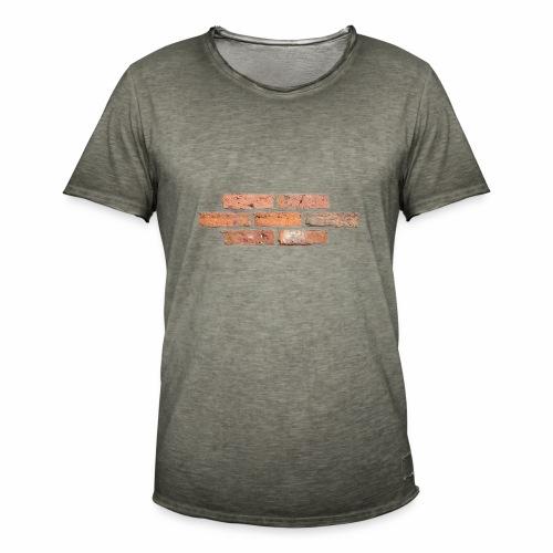 Wall One - Männer Vintage T-Shirt