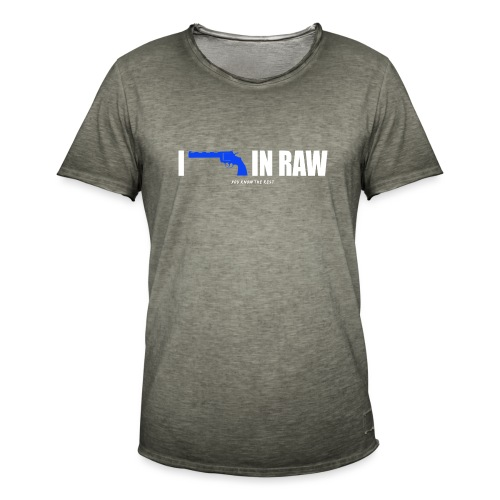 I shoot in RAW You know the Rest - Männer Vintage T-Shirt