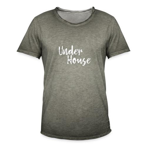 UNDER HOUSE MINIMALISTA - Camiseta vintage hombre