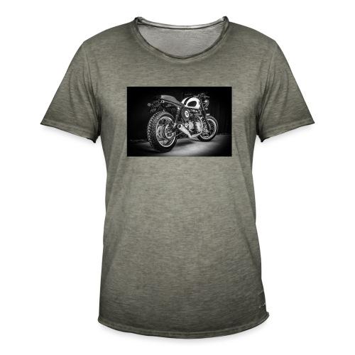 Monia's Thruxton 'Performance Scrambler' - Men's Vintage T-Shirt