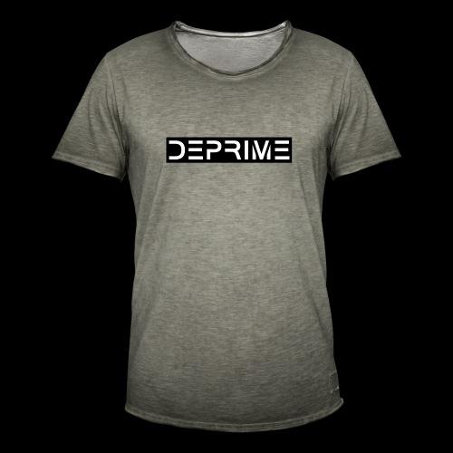 DEPRIME - Maglietta vintage da uomo