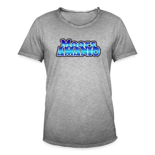 MoorsAmanioLogo - Mannen Vintage T-shirt