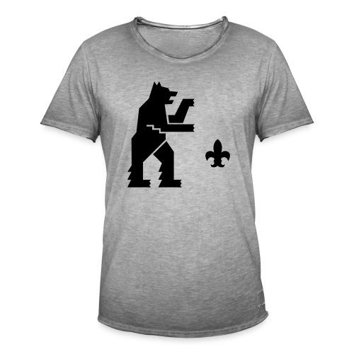 hemelogovektori - Miesten vintage t-paita