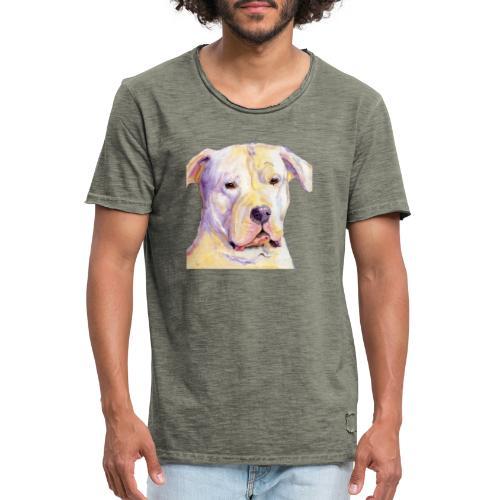 dogo argentino - Herre vintage T-shirt