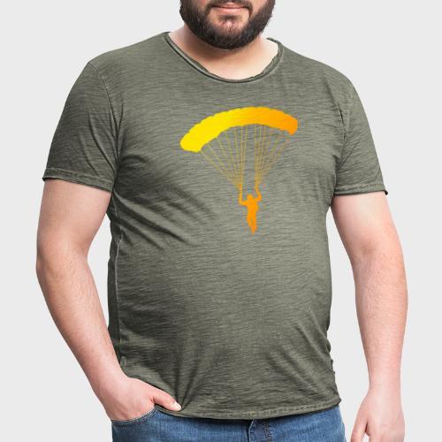 Colorfull Skydiver - Männer Vintage T-Shirt