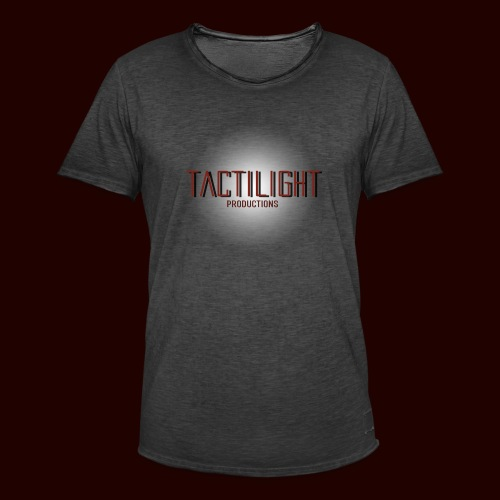 Tactilight Logo - Men's Vintage T-Shirt