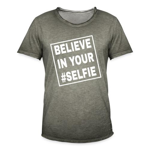 BELIEVE - Männer Vintage T-Shirt