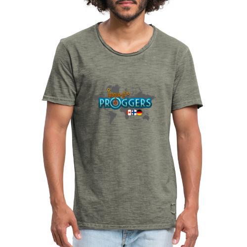 Logo-for-BLACK - Miesten vintage t-paita