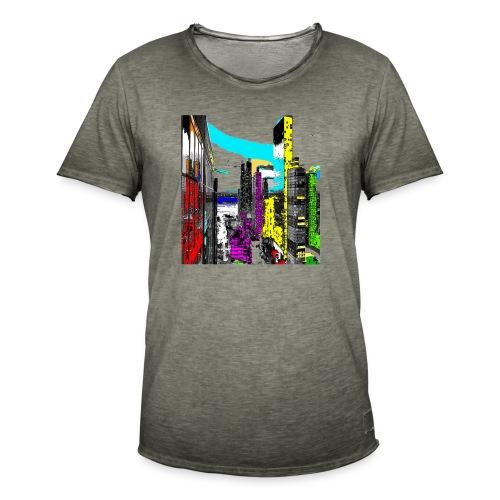downtown 01a - Maglietta vintage da uomo