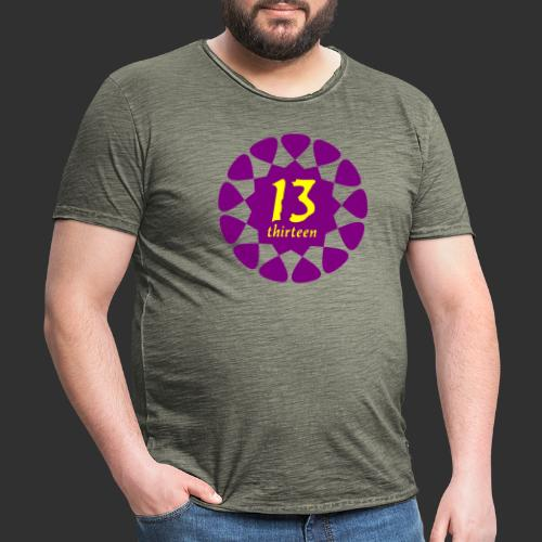 thirteen - Männer Vintage T-Shirt