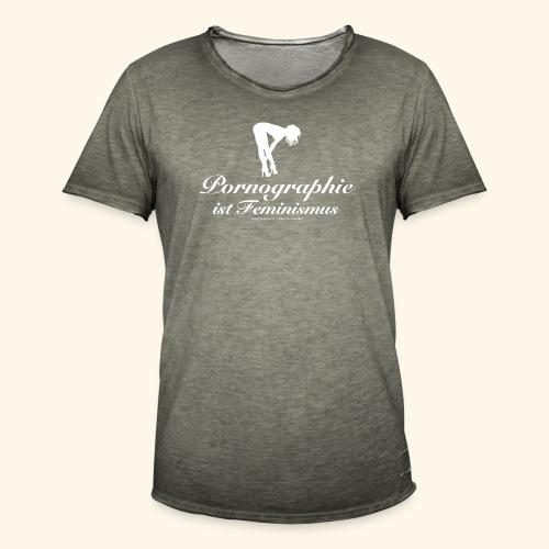 Feminismus - Männer Vintage T-Shirt